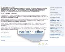 Publicar ou editar