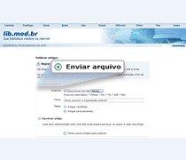 Publicar enviando arquivo